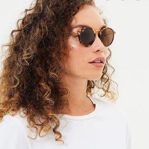 RayBan Round Fleck Sunglasses